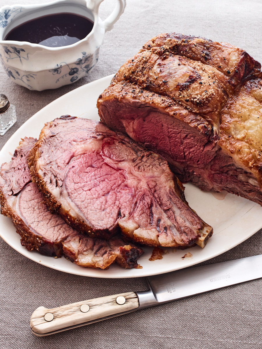 4 Ingredient Horseradish Crusted Rib Roast