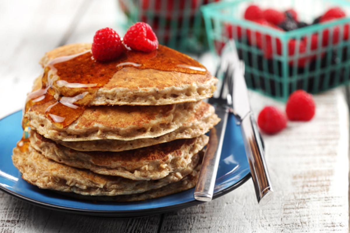 cinnamon oatmeal pancakes kosher recipe