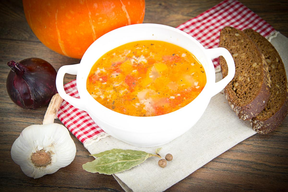 pumpkin wild rice soup