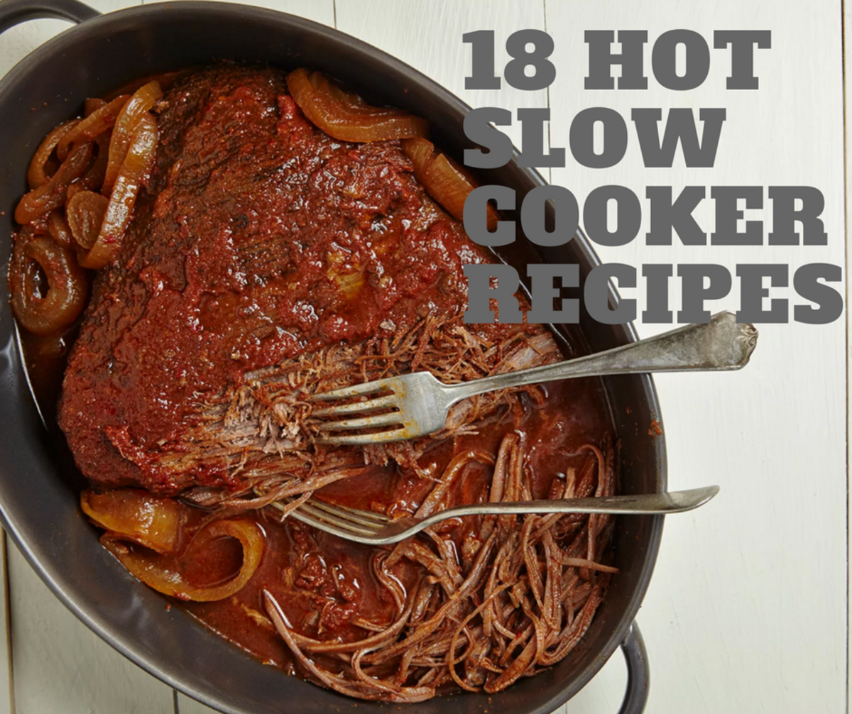 18 SLOW COOKER RECIPES