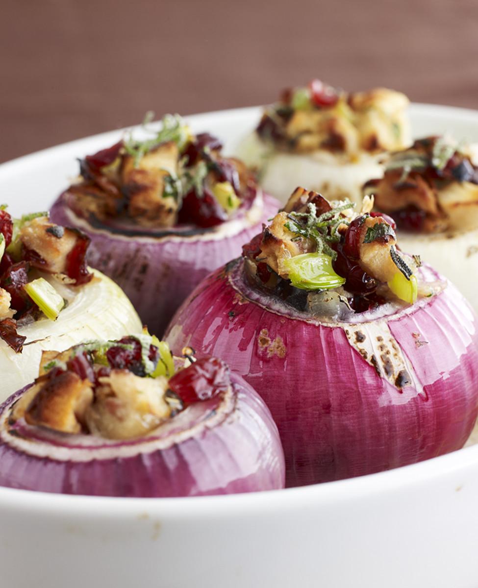 stuffed baked onions