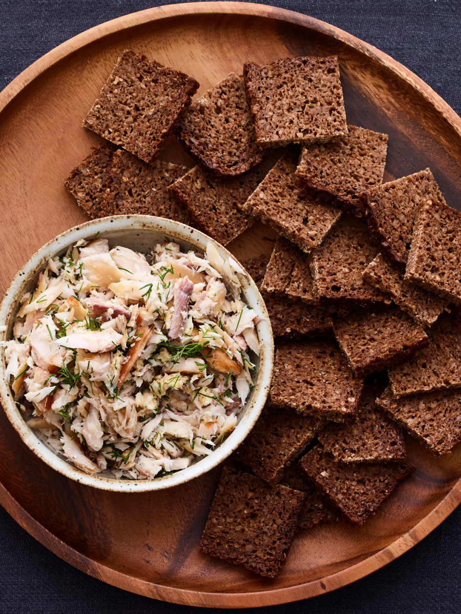 smoked fish salad