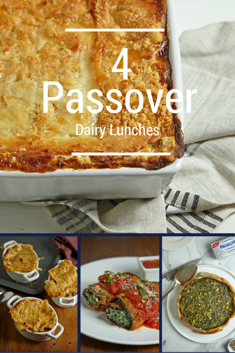 4 Passover Dairy Lunches You Need To Make this Year
