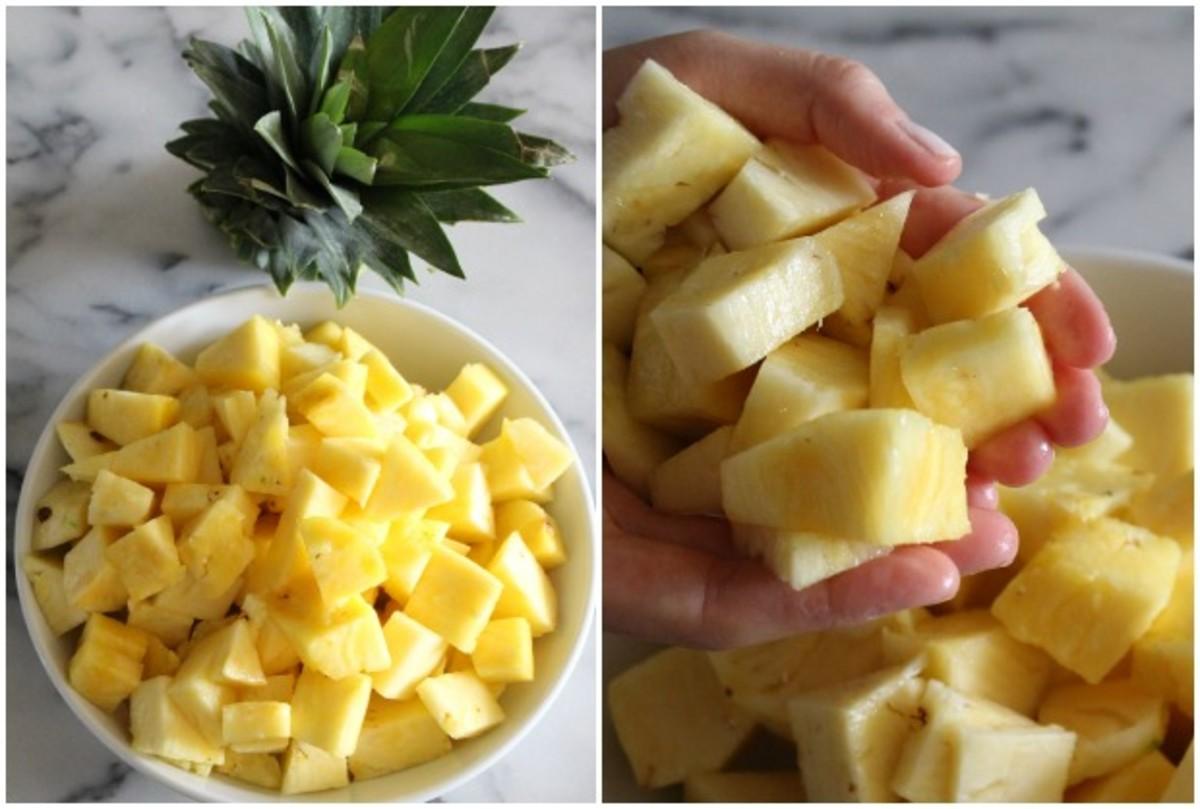 diy pineapple