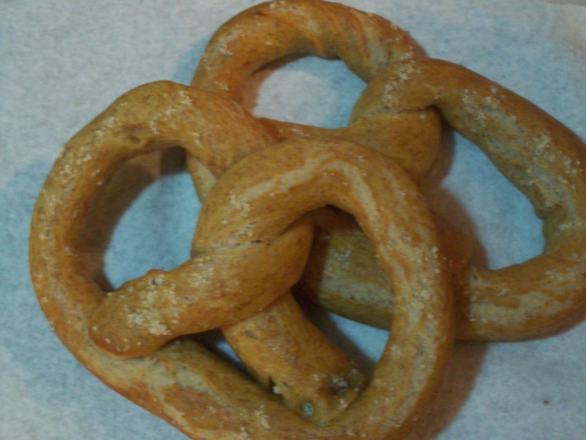 Whole Wheat Soft Pretzels
