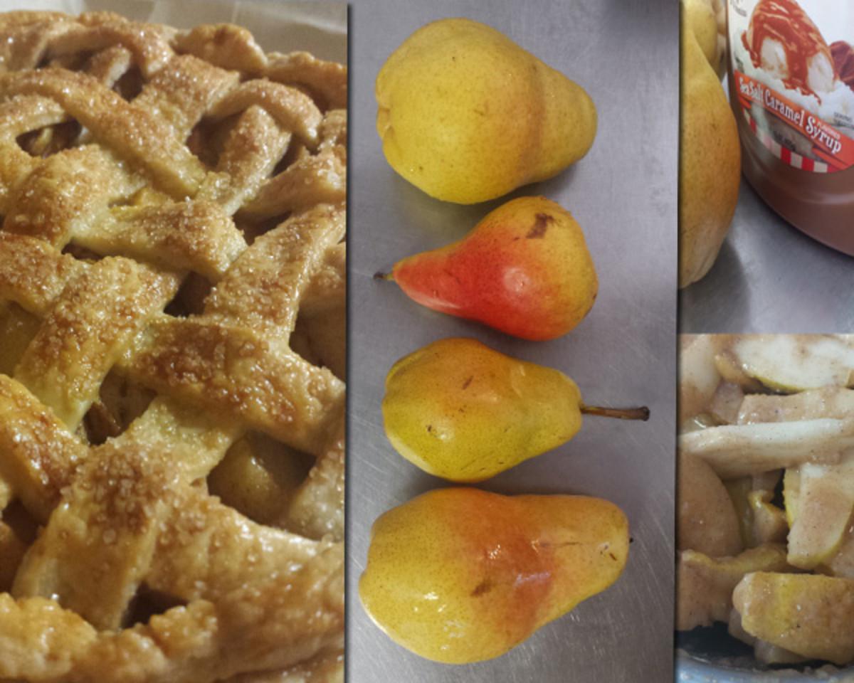 Week 3 Pear Pie process