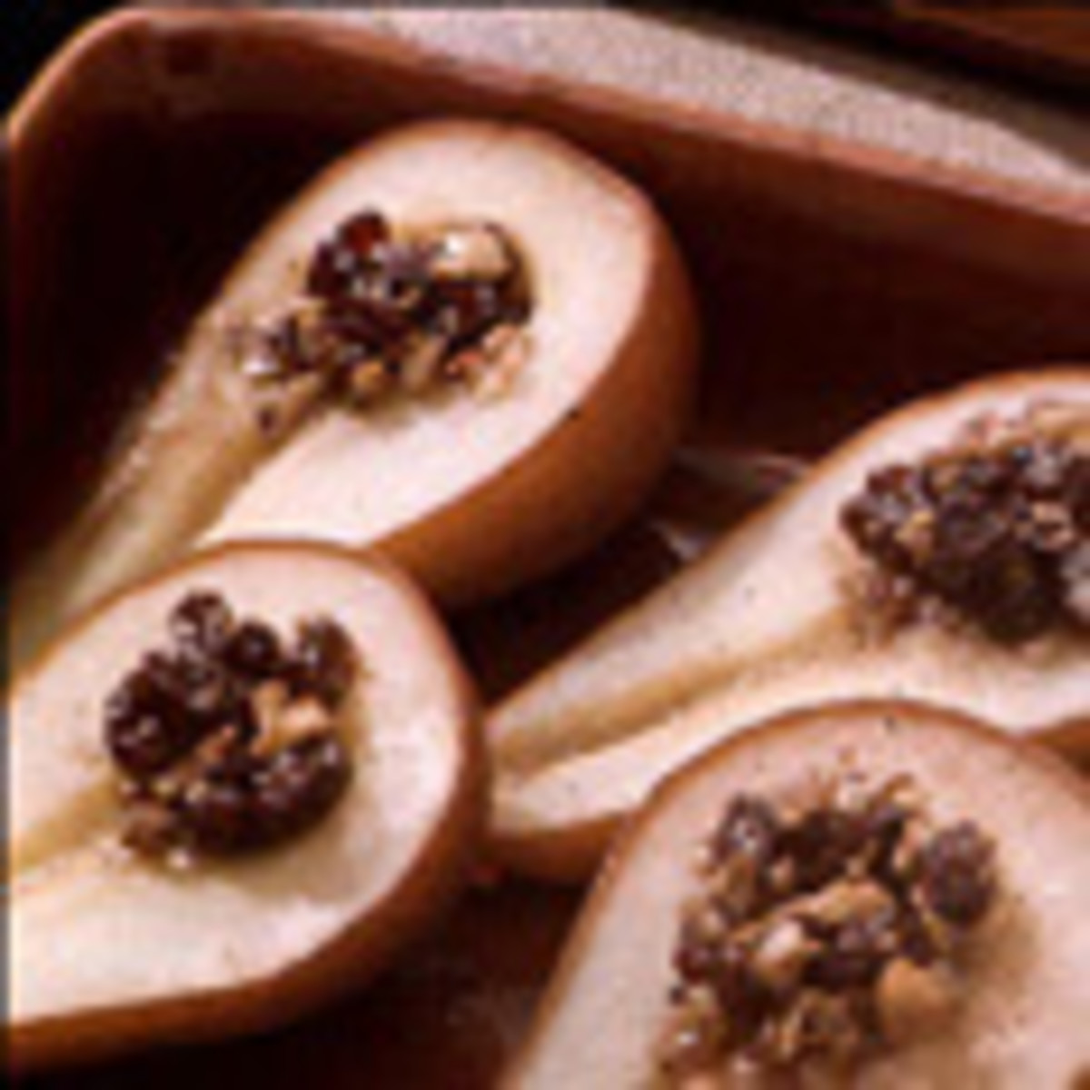 Baked Bosc Pears on the Half Shell