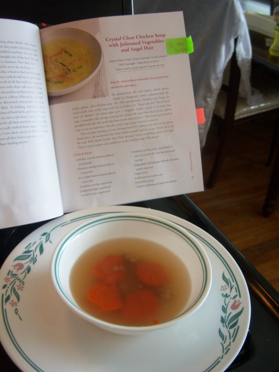 cooking with joy chicken soup