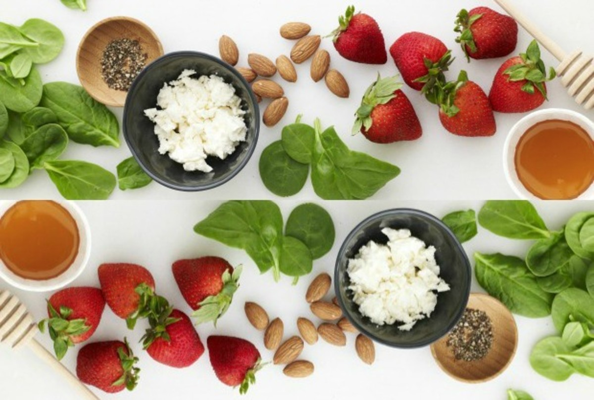 Strawberry Salad With Kids