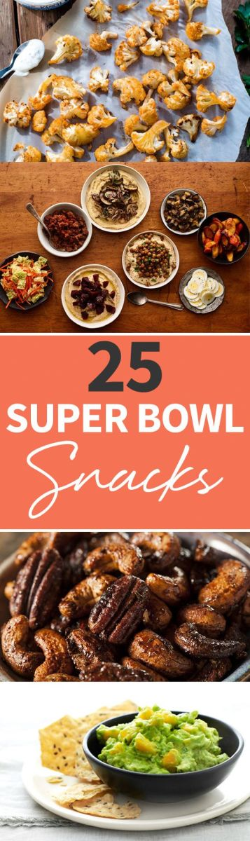 25 Super Bowl Snacks