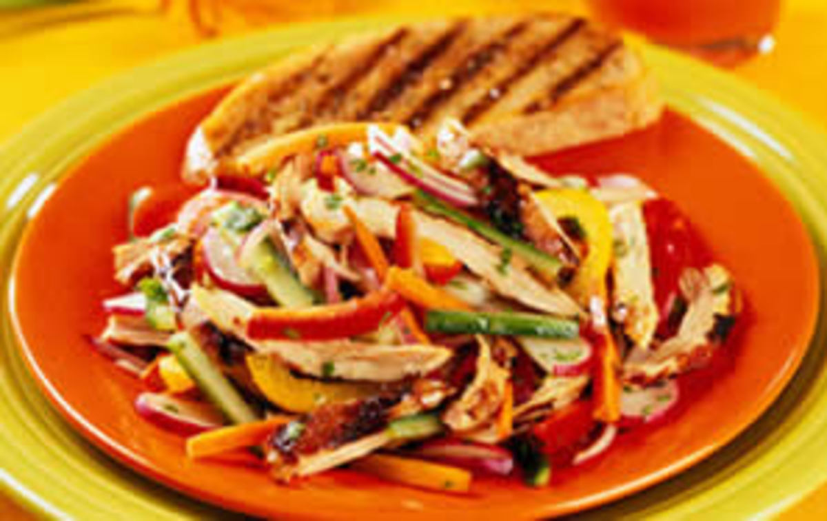 Pan-Asian Chicken Escabeche – From the Illinois Institute of Art Cooking School, Chicago