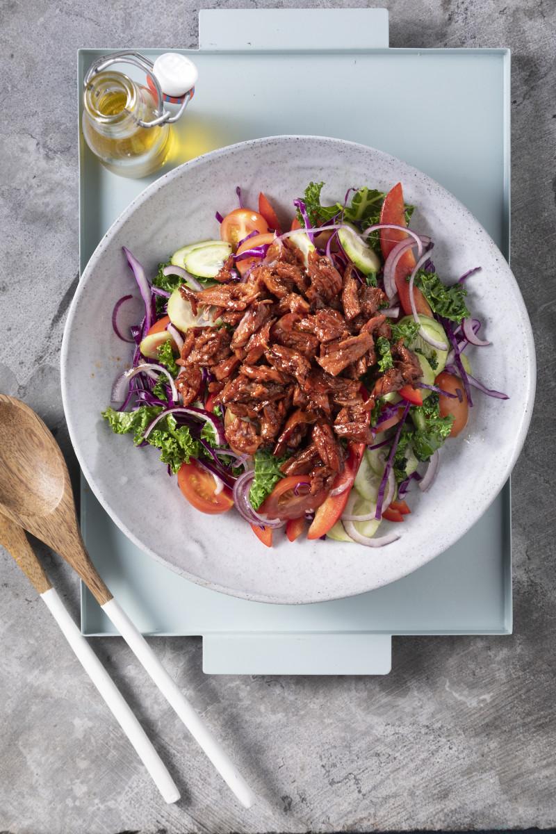 Leftover Brisket salad