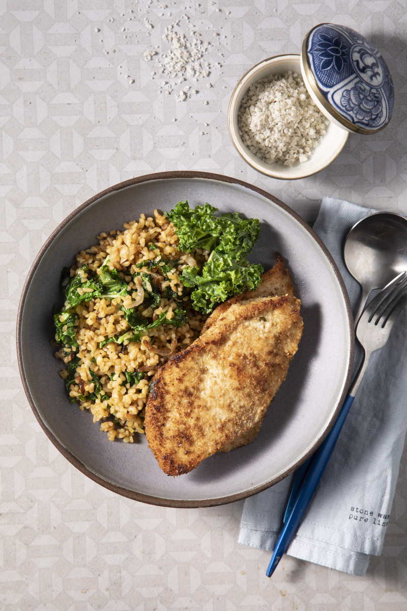 Dukkah Chicken Skillet