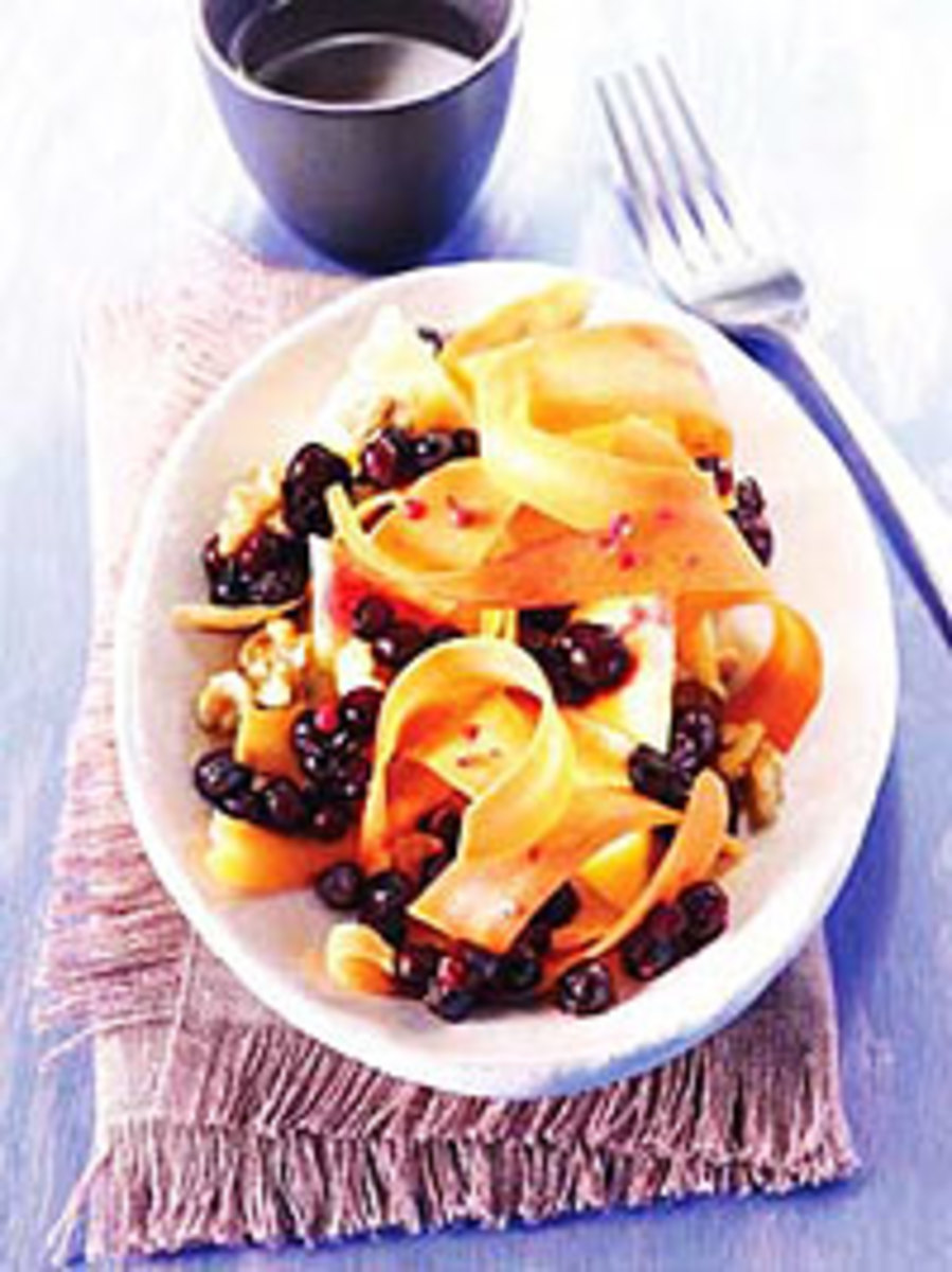 Carrot Salad with Wild Blueberries