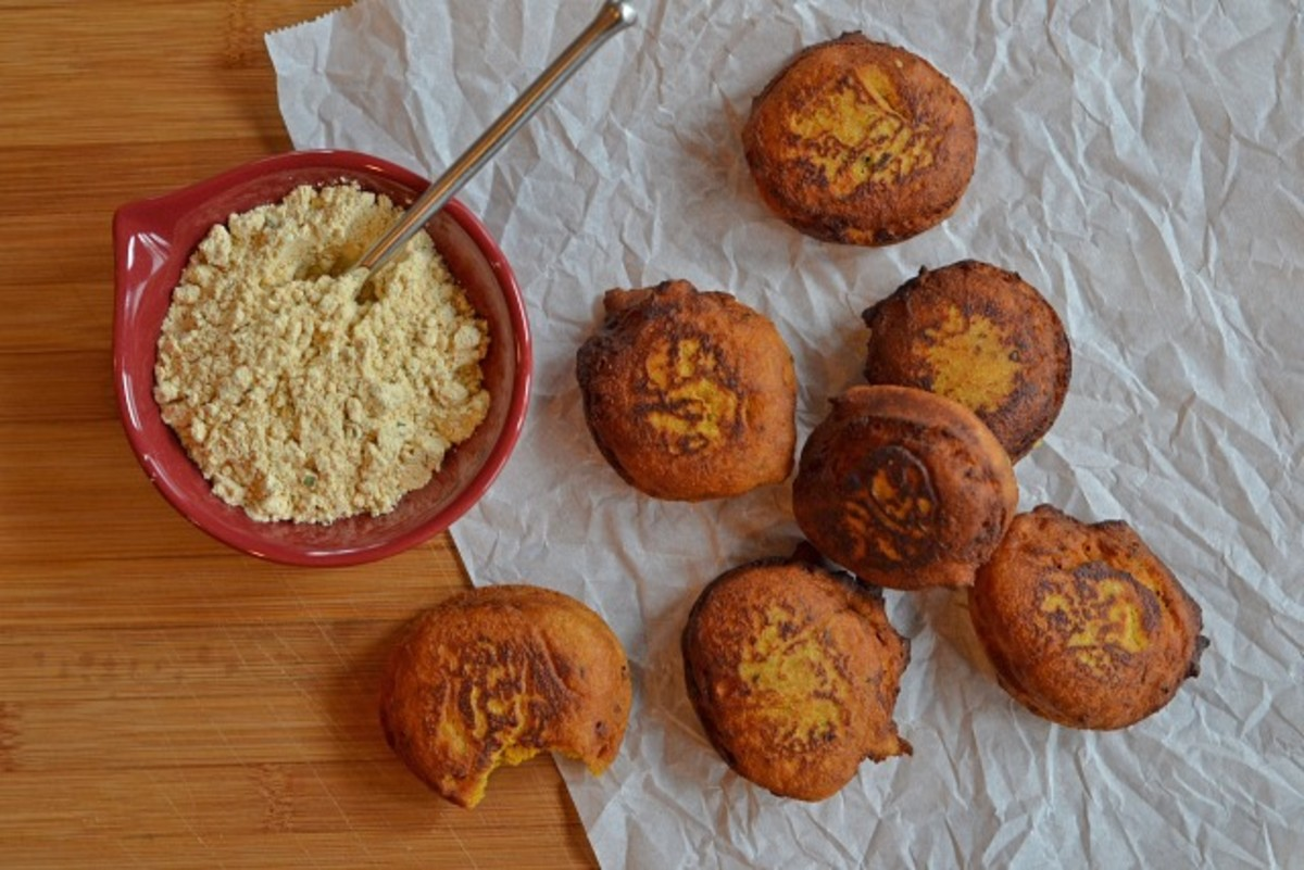 Homemade Dried Falafel Mix