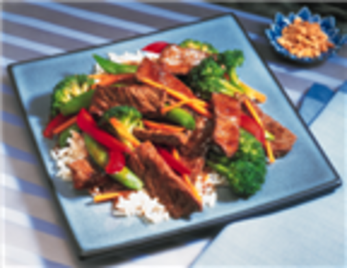 Asian Beef & Vegetable Stir-Fry