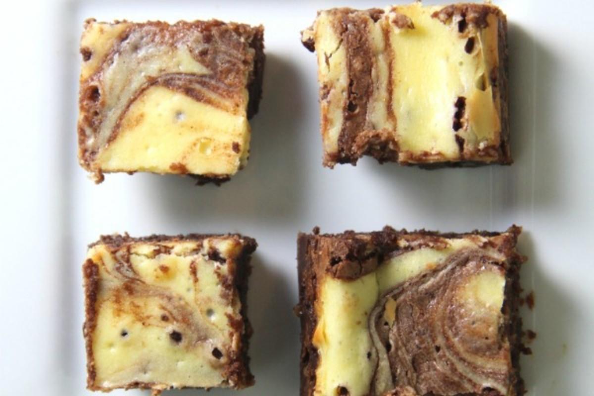 Fudgy Cream Cheese Brownies