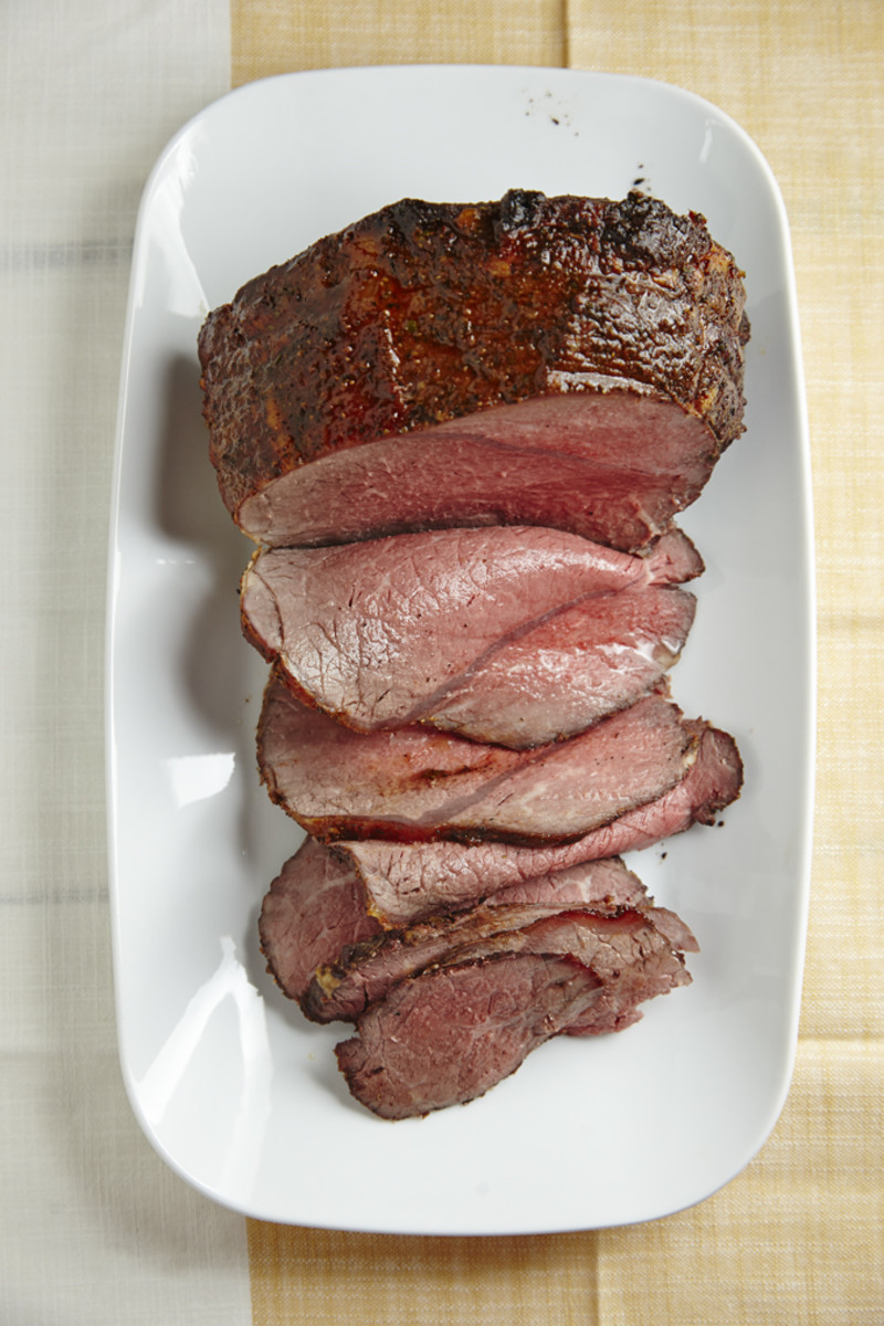 Secret-Spice-Rub Roast Beef