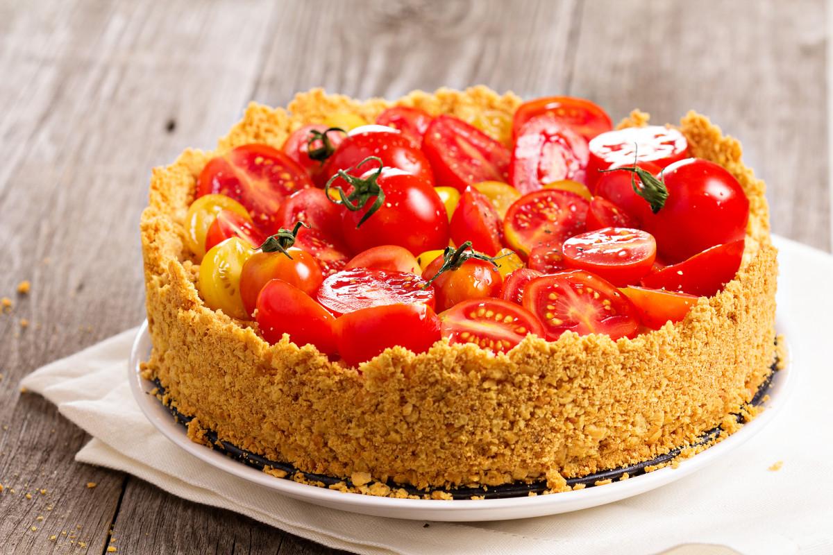savory vegatable cheesecake