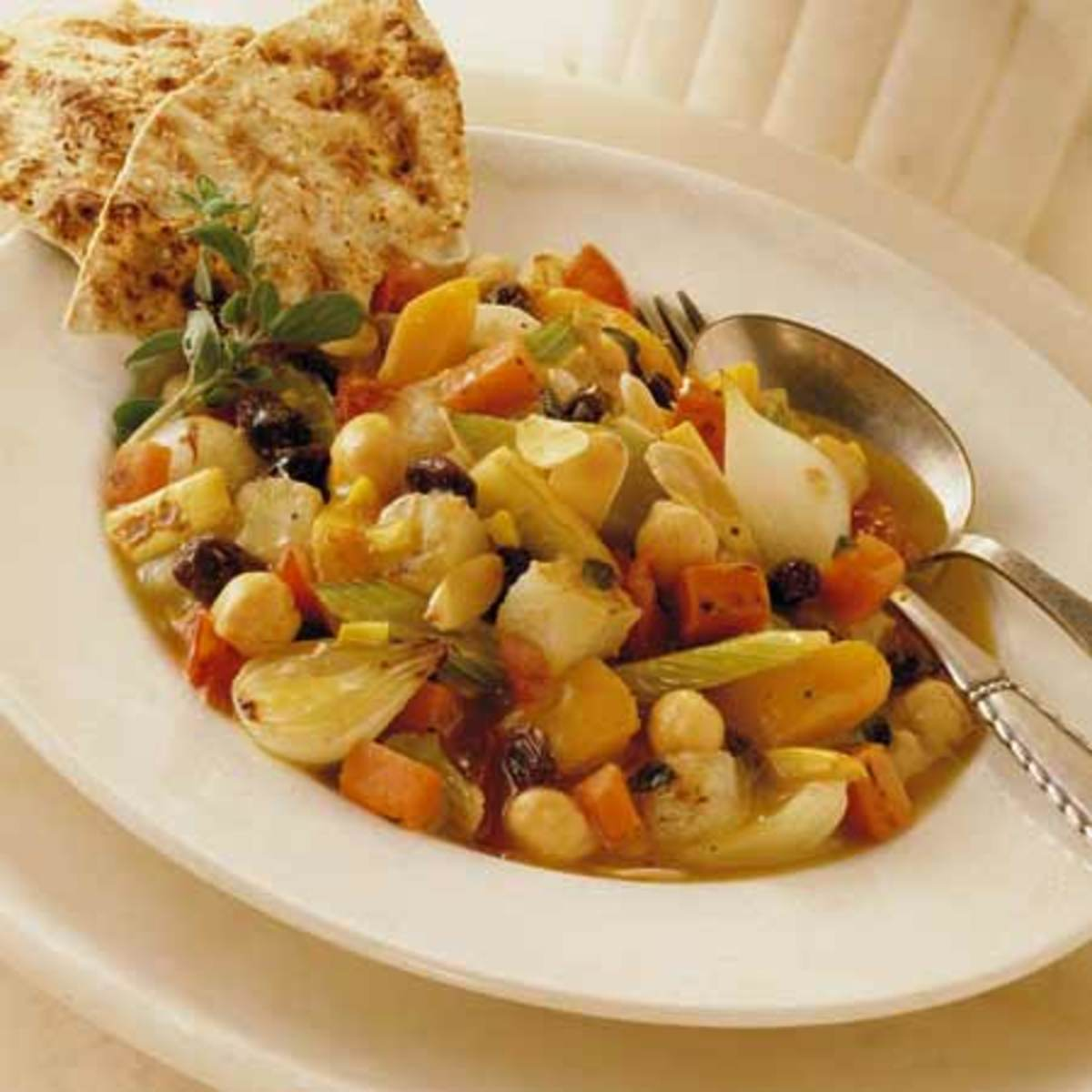 Moroccan Vegetable Ragout with California Raisins