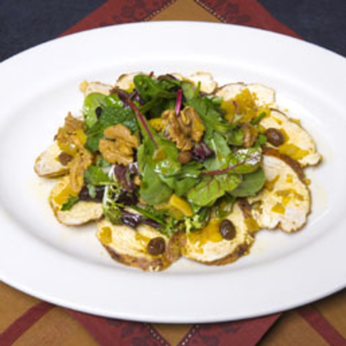 Royal Walnut Spiced Chicken Salad