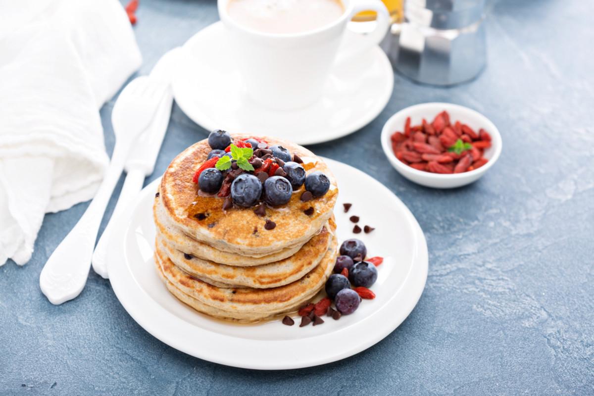 rasberry and chocolate chip pancakes.jpg