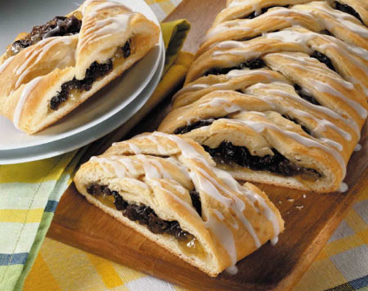 Raisin Filled Pastry Bars