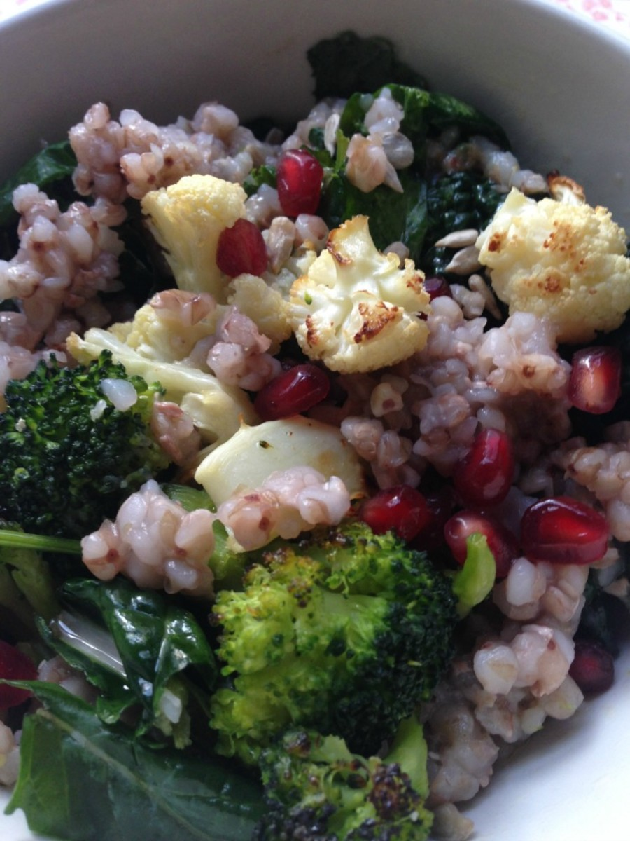 Healthier Kasha Varnishkes