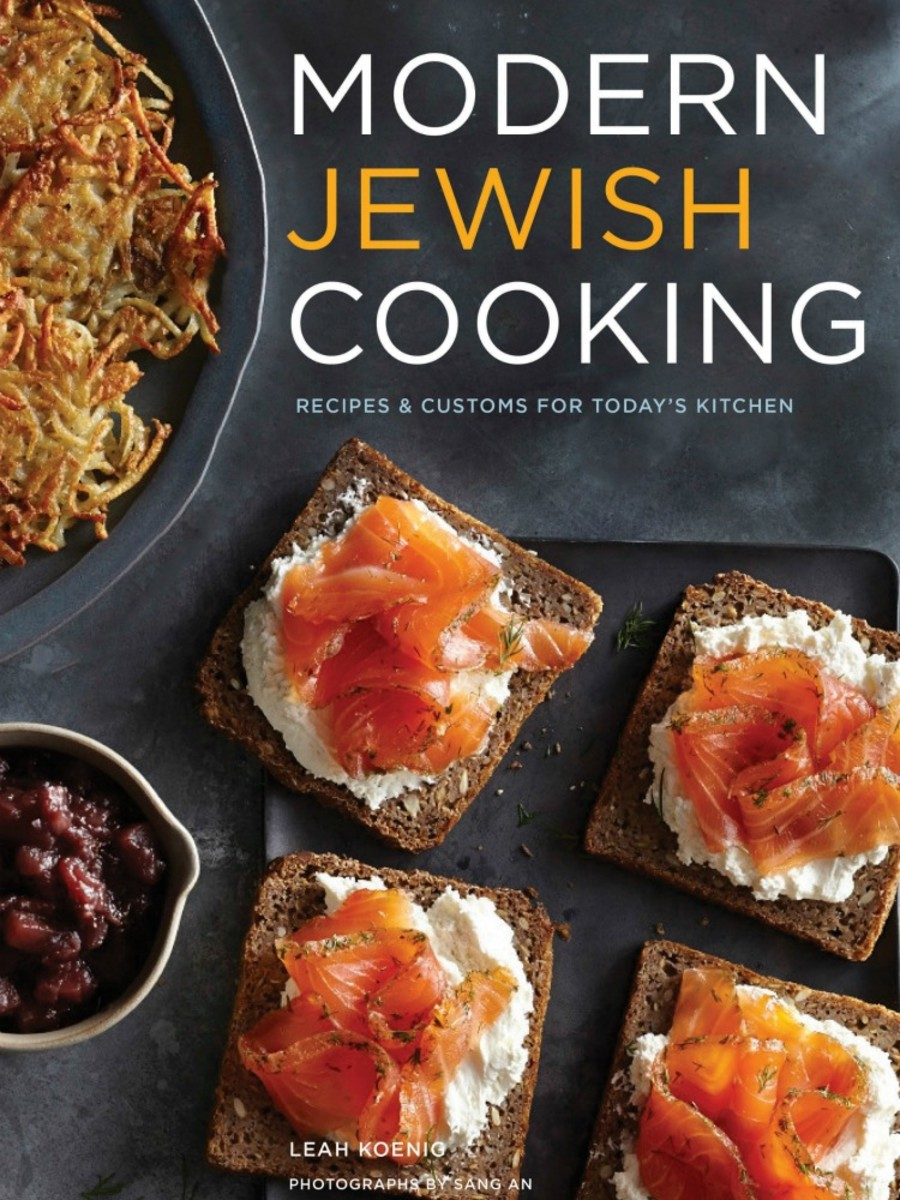 Modern Jewish Cooking Cover
