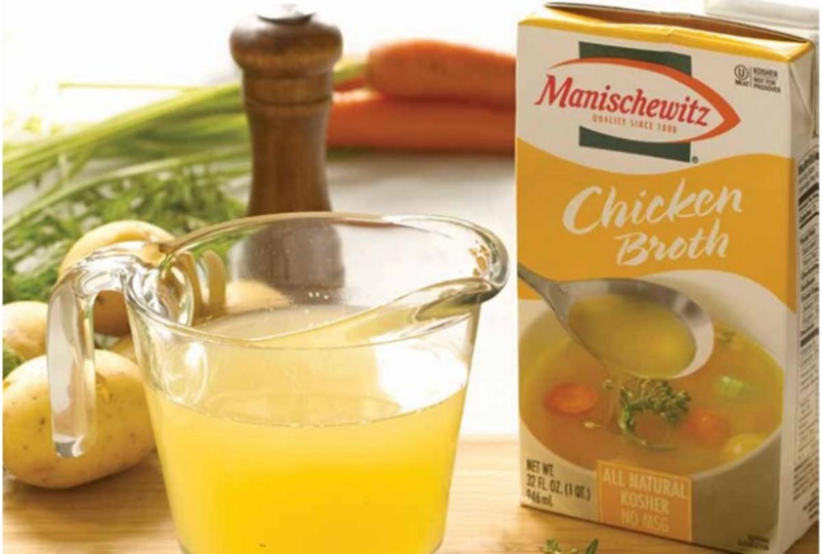 mani soup broth
