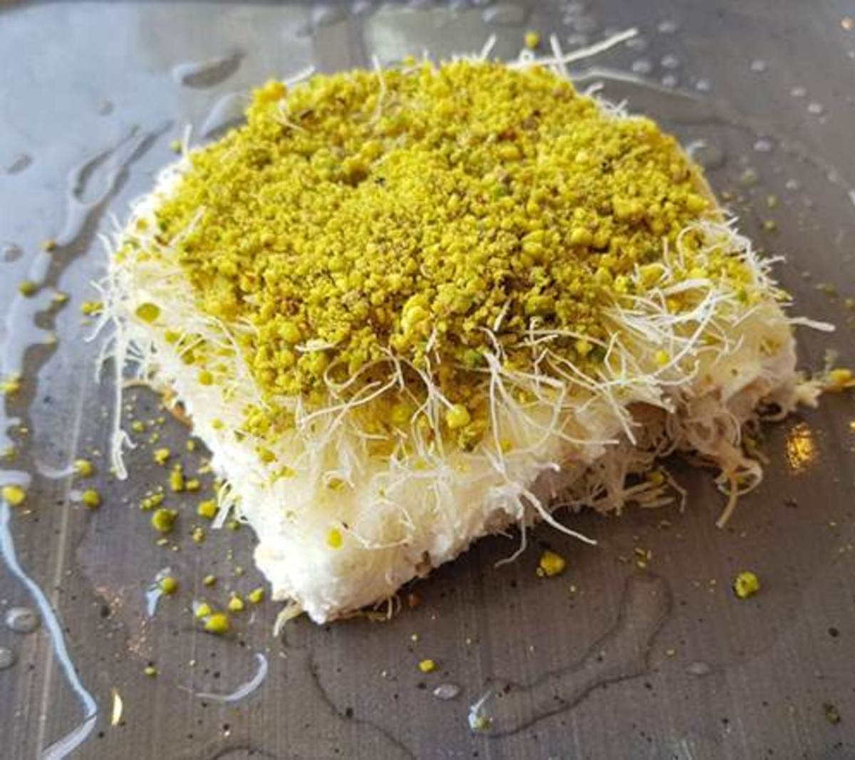 sweet cheese kanafeh
