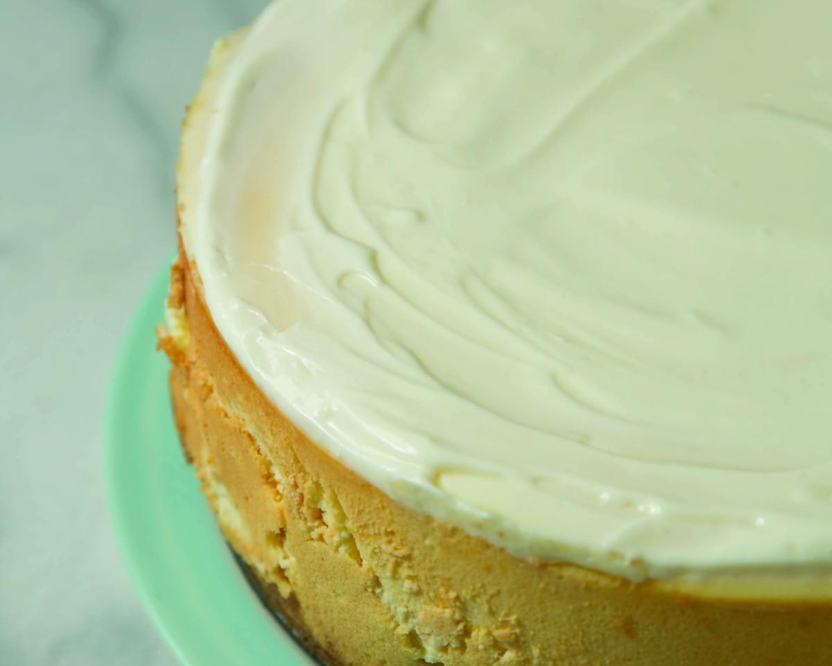 Chef Claude's Cheesecake horizontal