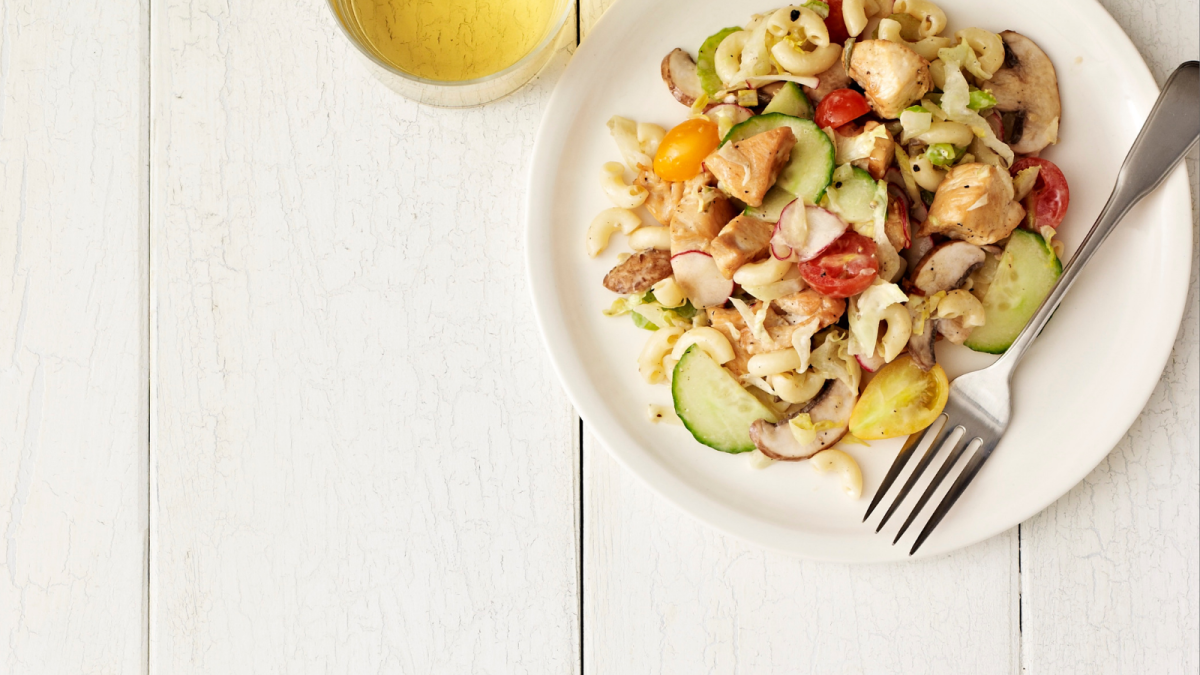 Loaded Turkey Pasta Salad