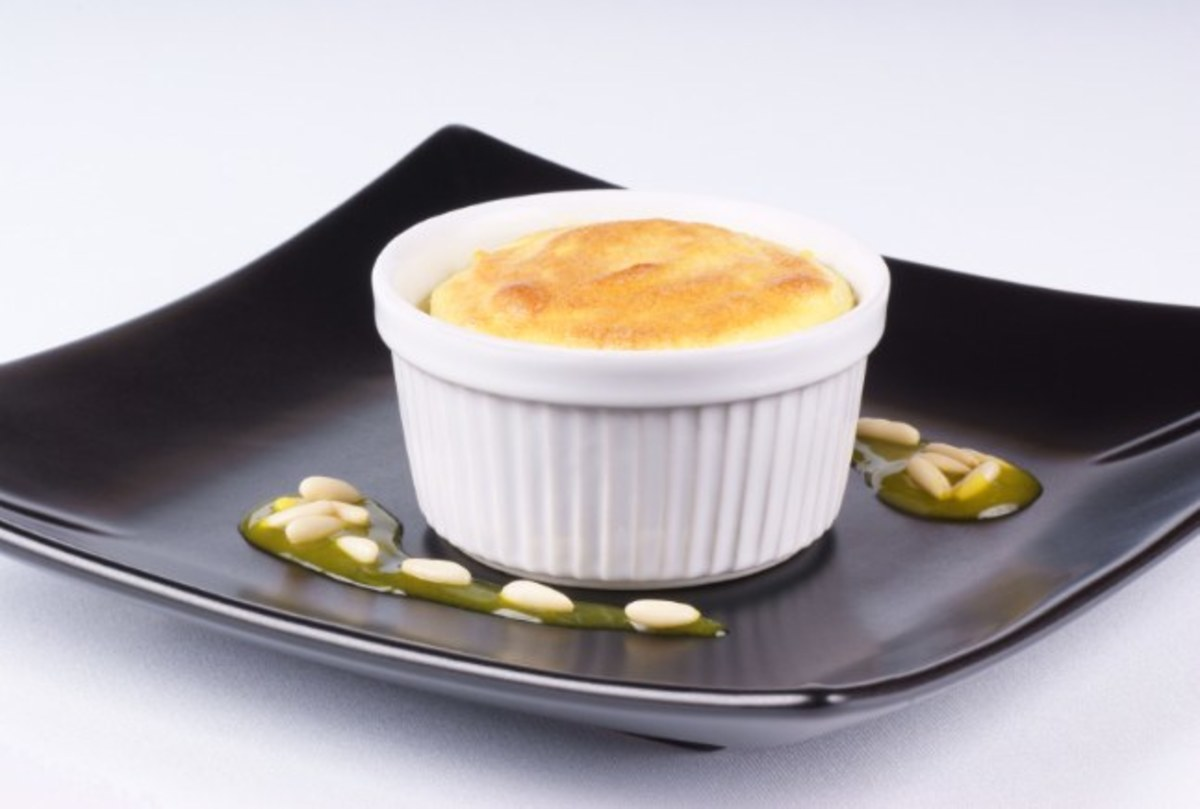 CASSOLA (RICOTTA SOUFFLE - PUDDING FROM ROME)