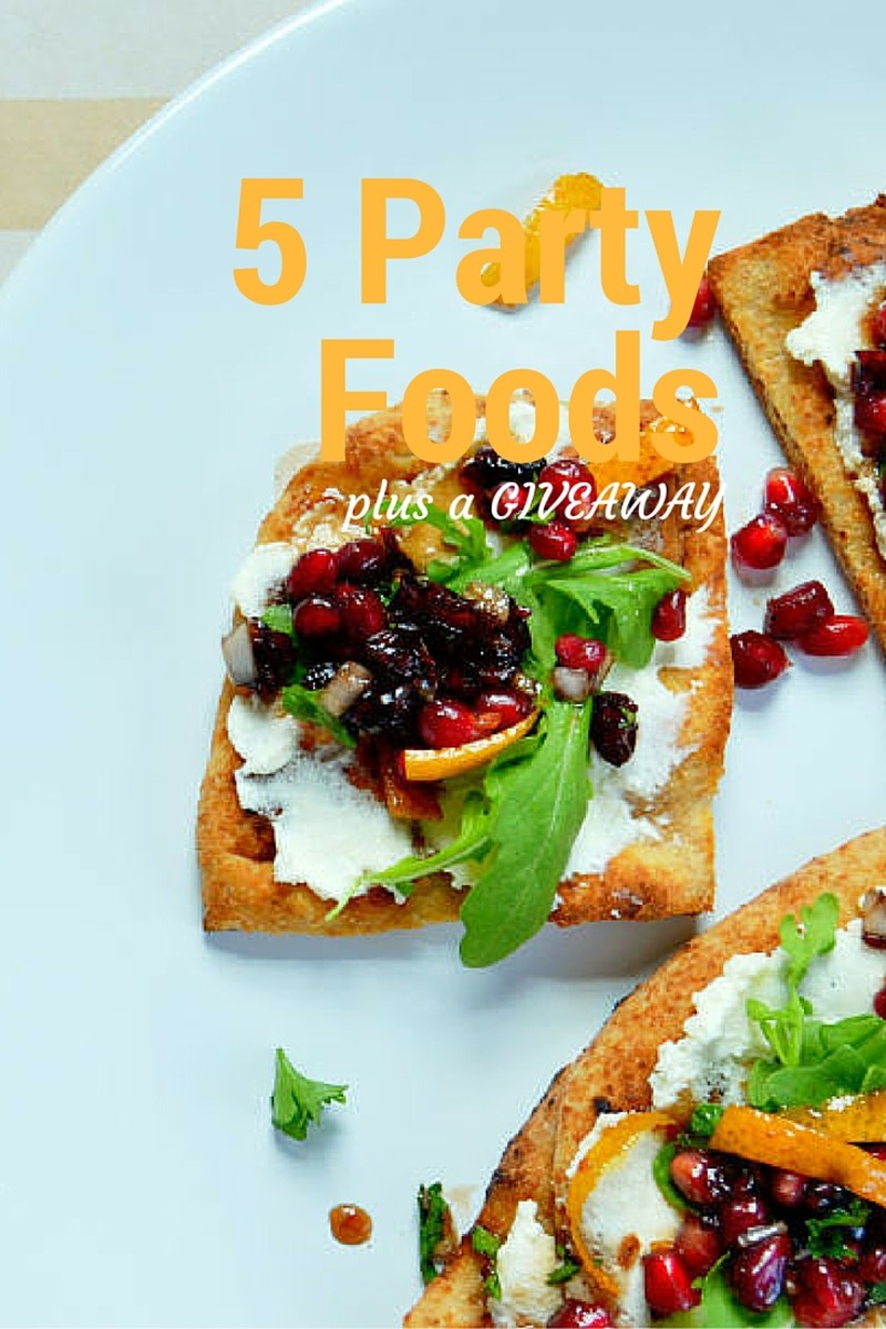 5 Party Food Recipes To Sweeten Your Life
