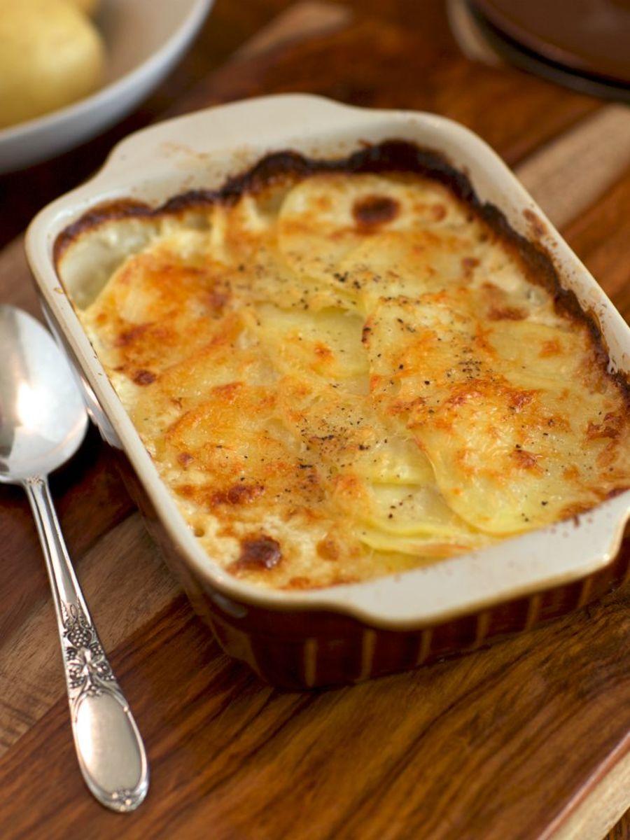 Pleated Potato Casserole (Rakott Krumpli)