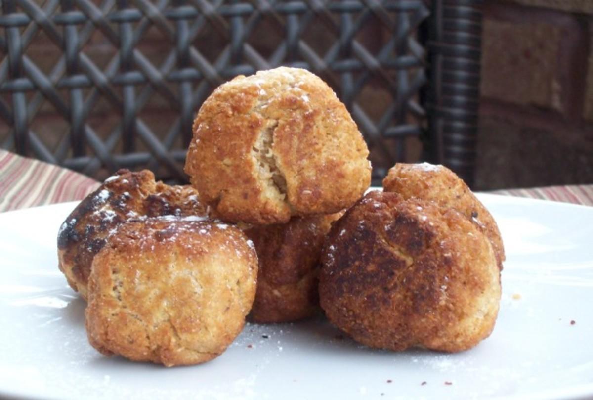 Sufganiyot - Whole Wheat Jelly Doughnuts