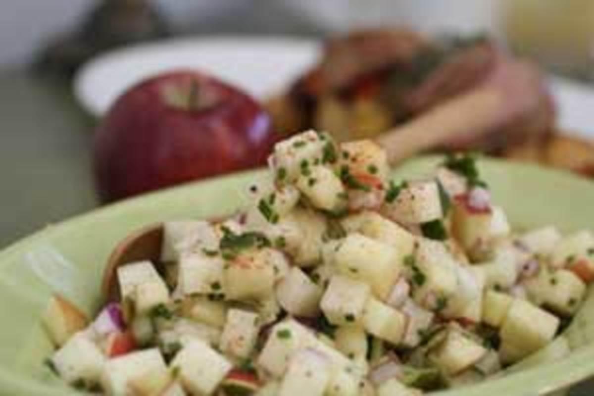 Apple-Jicama Salad with Pepitas