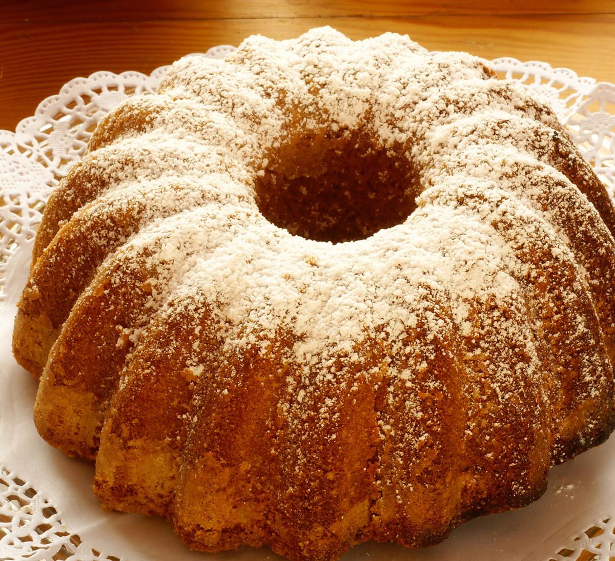 Orange honey cake recope