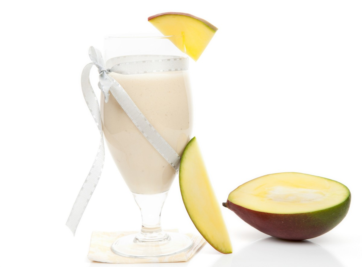 Mango Cheesecake Cocktail