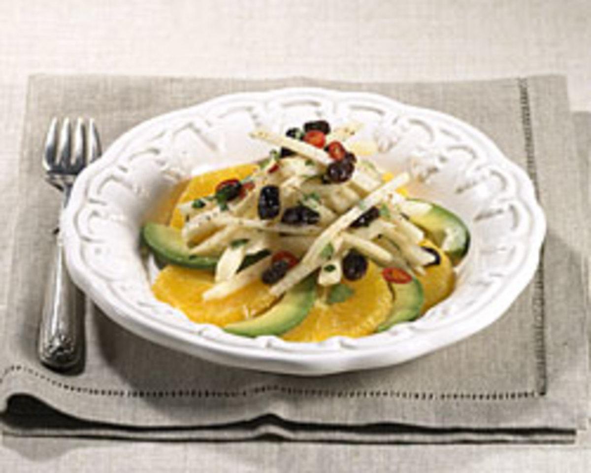 Jícama, Avocado and Orange Salad