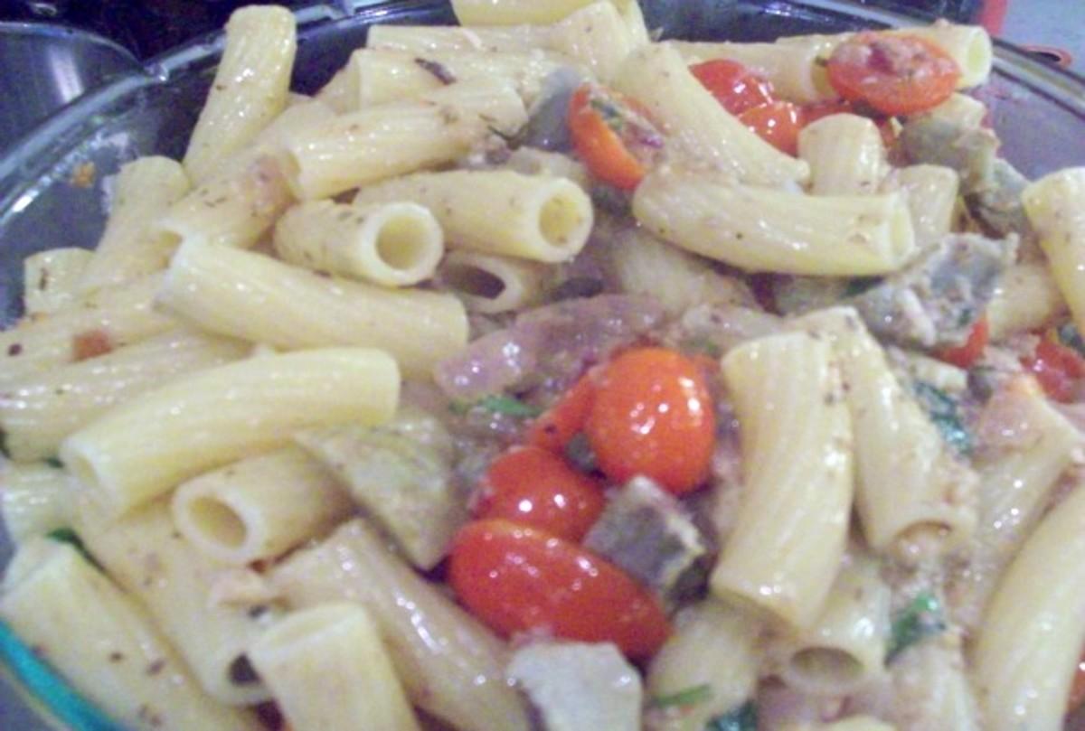 Sardine Pasta Salad