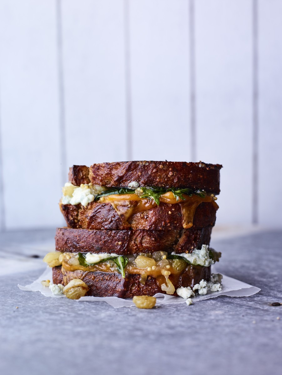 Chutney Grilled Cheese