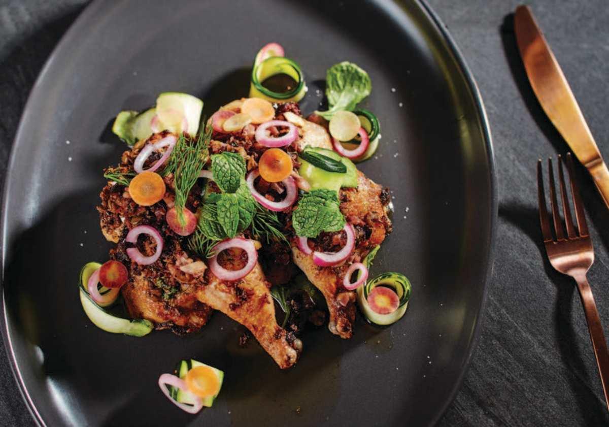 Braised Chicken Tabaka