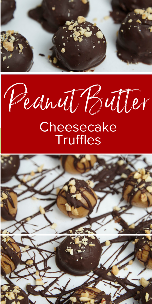 Peanut Butter Cheesecake Truffles