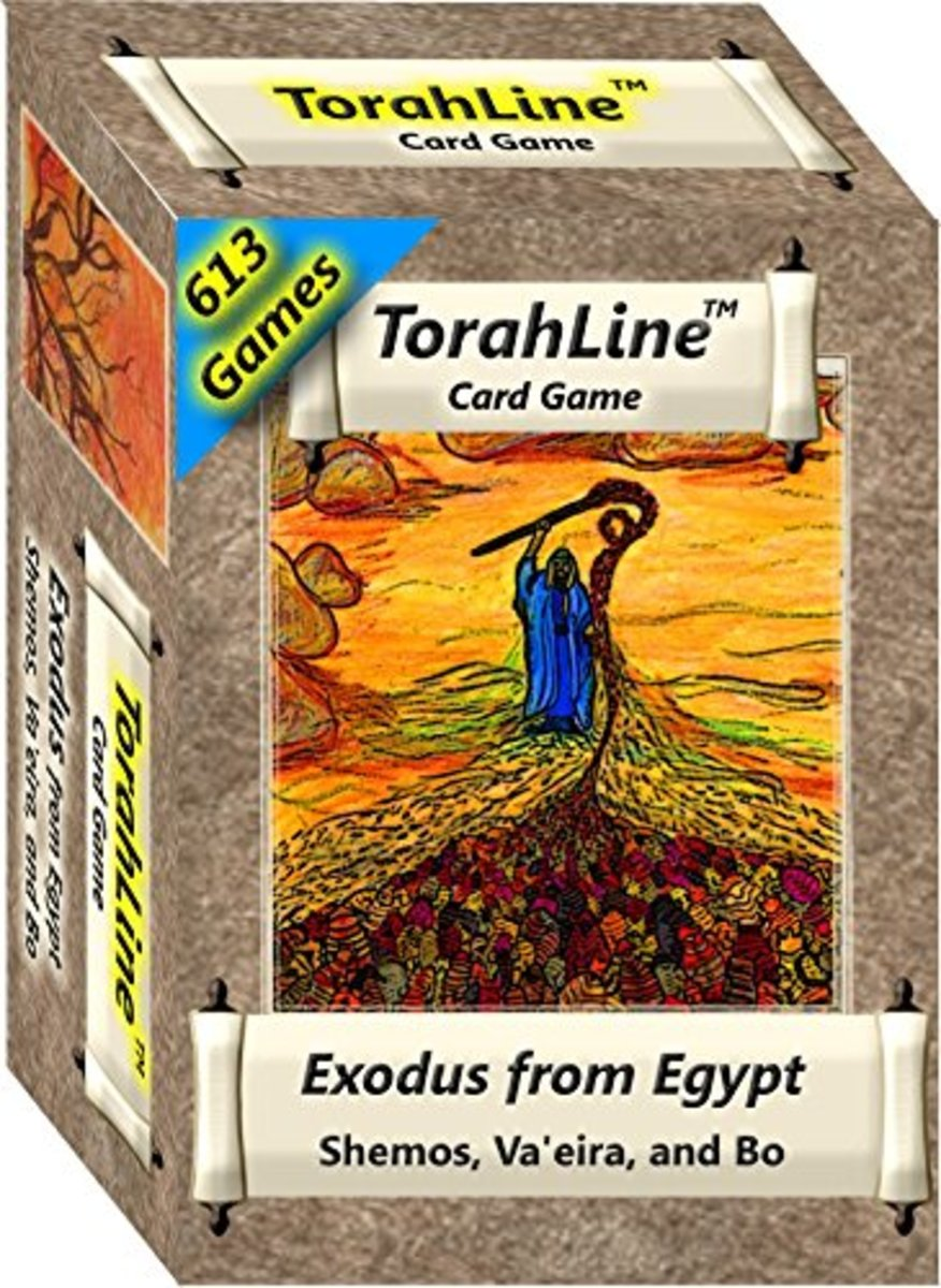 Torah Line Cards for Passover