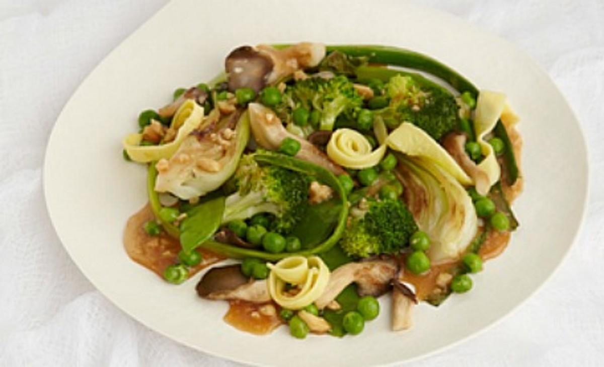 cashew ginger stir fry vegetables