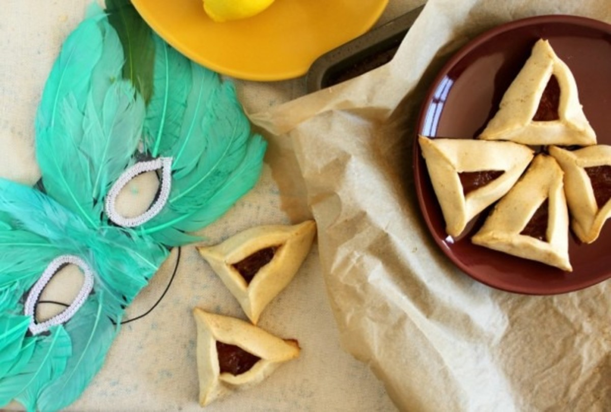 5 Hamantashen Inspired Menus