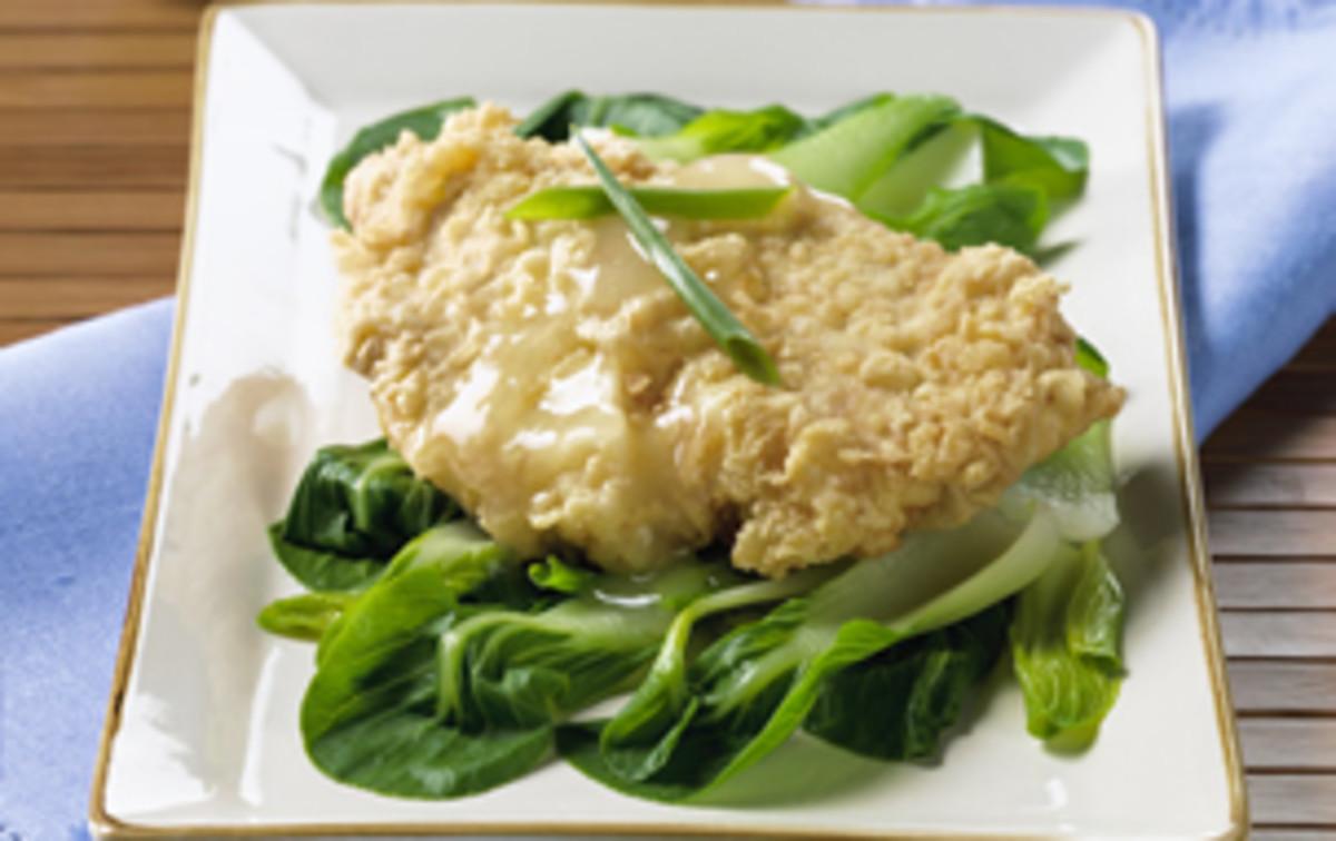 Lemon Chicken with Bok Choy