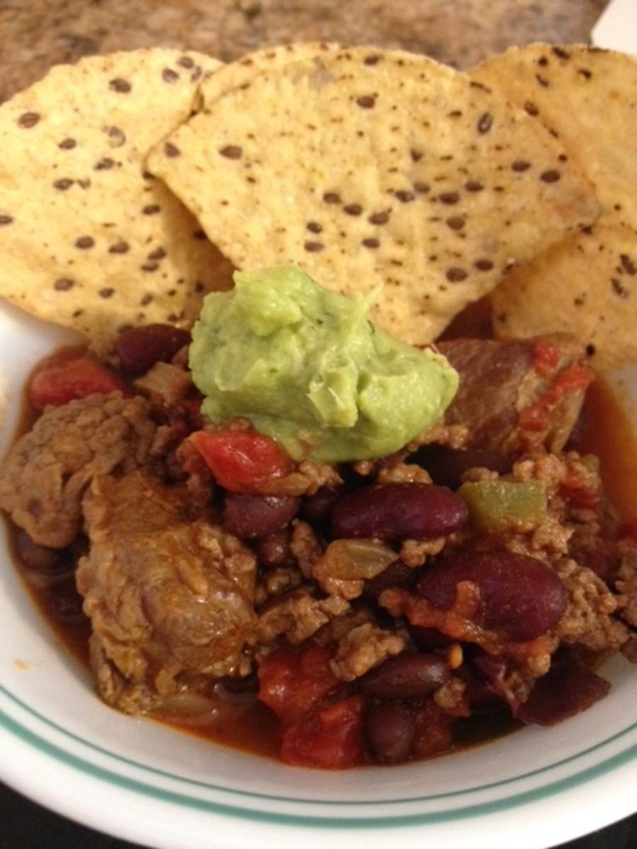 chunky red chili